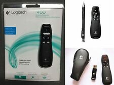 Logitech R400 Wireless Laser Pointer Control Pen USB Presenter PPT Professional
