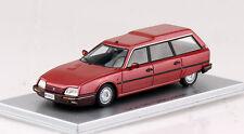 CITROEN CX 25 TRD Turbo 2 STATION WAGON 1987 ROSSO 1:43 Kess modello di auto