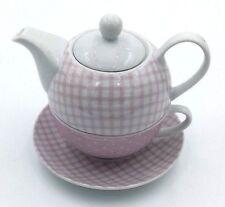 Tetera Tea For One Con Taza Rosa