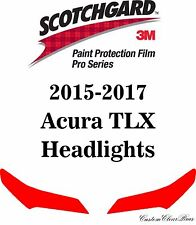 3M Scotchgard Paint Protection Film Pro Series Clear 2015 2016 2017 Acura TLX