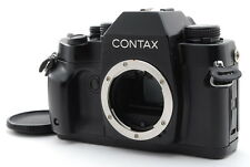 【F/S NEAR MINT+++】Contax RX 35mm SLR Film Camera Black Body Only from Japan 1059