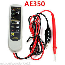 Professional Car Battery Generator Voltage Tester Diagnostic Alternator Checker