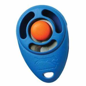 """Starmark Clicker Dog Trainer Blue 2.5"""" x 1.5"""" x 1"""" - TCQC"""