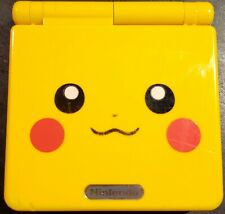 AUTHENTIC AGS-101 Nintendo Game Boy Advance SP Pikachu Handheld System - Yellow