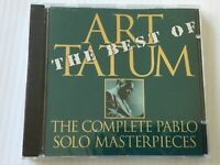 The Best of ART TATUM THE COMPLETE PABLO SOLO MASTERPIECES factory SEALED NEW