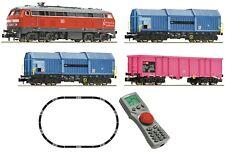 FLEISCHMANN 931890 Digitales Startset: Diesellokomotive BR 218 der DB, Spur N