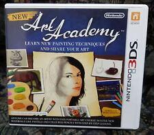 Nintendo 3DS NDS Lite Spiel New Art Academy mit Anleitung guter Zustand + OVP