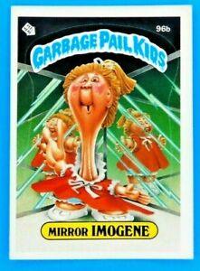 1986 Garbage Pail Kids Mirror IMOGENE Series 3 GPK Vintage Sticker Card 96b