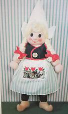 Rag Doll Toy Dutch Girl Toy Sewing Pattern (RG03)