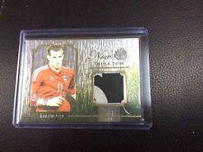 2015 Futera Unique Then & Now Gareth Bale 9/27 Game Jersey Logo Patch Hotspur
