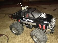 *RARE* Original Vintage Kyosho Double Dare 1/10 4x4 Monster Truck RC w/ Extras
