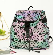 Geometric Lingge Backpack Luminous Reflective, Laser Festival Rave Bag