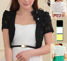 Chiffon Party Short Sleeve Floral Tops & Shirts for Women