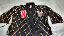 "Hapkido Youth Size ""0"" Dobok Medium Weight Black/Gold Line - SHIPS FREE"