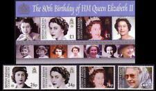 biot ca 2006 indian ocean 80th anniversary Birth HM Queen Elizabeth II ms2v +4v