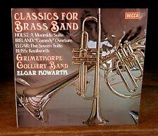 LONDON DECCA SXL-6820» HOWARTH/Classics For Brass Band«1977 ffss Orig «Strong NM