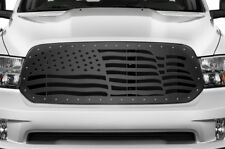 Custom Aftermarket Grille for Dodge Ram 1500 2013-2018 Truck Grill AMERICAN FLAG