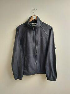 Columbia Large Women's Fleece - Black - L - Zip Up