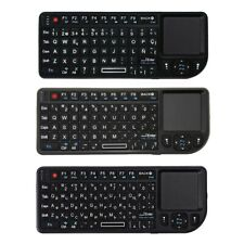 A8 Wireless Keyboard Air Fly Mouse 2.4G Mini ToucHPad Color Backlit for Sp V1N1