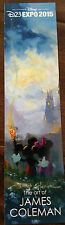New listing 2015 D23 Expo Exclusive Disney Fine Art Promo Card Bookmark Mickey Minnie Mouse