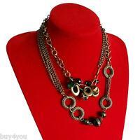 Necklace Chain Long + Pearls Chain Bracelet Jewelry Charm Bracelet Vintage Set