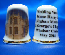 China Thimble - Prince Harry and Meghan Royal Wedding Venue with Free Box
