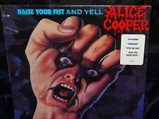 Alice Cooper Raise Your Fist And Yell SEALED USA 1ST PRESS 1987 PROMO VINYL LP