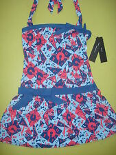 MARC JACOBS SWIMSUIT DRESS COVERUP 1950'S DESIGN XS 173.00 NEW