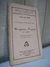 Ramusio : à la découverte de l'Amérique du nord NAVIGATIONS et VOYAGES au 16e