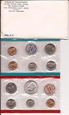 1968 U.S. 10 Coin Uncirculated Mint Set NICE!