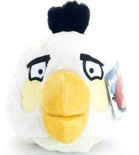 """Ufficiale NUOVO 4 """"Bianco Angry Bird con suoni Angry Birds Peluche Giocattolo morbido"""