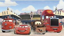 CARS PREPASTED WALLPAPER WALL MURAL New Disney Friends Lightning Mater Decor