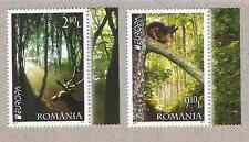 ROMANIA EUROPA CEPT 2011- FOREST- 2 STAMPS SET