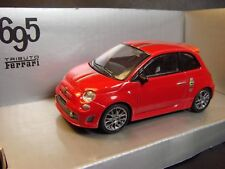 NEW FIAT 695 ABARTH TRIBUTO FERRARI - 1/43 MONDO MOTORS