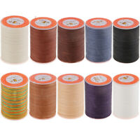 300 Meters 0.35mm Leather Sewing Waxed Wax Thread Hand DIY Stitching Cord Craft