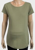 Womens NEXT Pea Green Scoop Neck Maternity T-Shirt - Size 8 10 12 14 16 18 20 22
