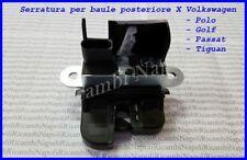 SERRATURA COFANO PORTELLONE BAGAGLIAIO POSTERIORE W GOLF V VI PASSAT POLO TIGUAN