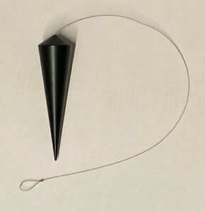 Ingo Maurer / PARTS / Oh Mei Ma Kabir STEEL PLUMB (BLACK) - ONLY