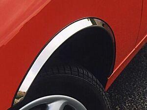 JAGUAR XJ 350 358 wheel arch trims 4 pcs Chrome styling wing kit for 2003-2009
