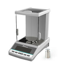 Analytical Balance 0.0001g Digital Lab Precision Balance Scale 0.1mg 120g 220g