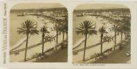 Francia Nice, La Baie Dei Angeli, Foto Stereo Vintage Analogica PL60OYL2