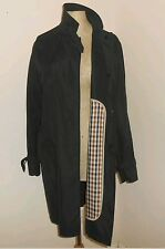 Ladies chic AQUASCUTUM packable bag trench coat mac/jacket. Immaculate RRP £250