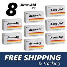 8x Stiefel Acne-Aid Bar 100g pimple-prone and oily skin Acne Aid Soap EXP:02/20
