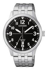 CITIZEN BI1050-81F Mens Watch WR50m Silver NEW in Box RRP $225.00