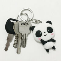 1PC Cartoon Panda Pattern Keychain Cute Bag Pendant Key Ring Chain Keyring