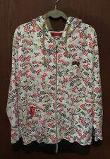 Unique LRG White Red Green Black Hooded Jacket Coat Trees XL EXCELLENT  Tub20