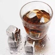 Kitchen Whiskey Stones Ice Cubes Stainless Steel Soapstone Glacier Cooler Stone