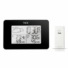 Termometro esterno per interni Sensore di umidità LCD digitale wireless Meteo