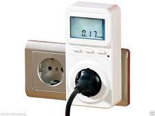 Misuratore di energia con display digitale con previsioni sui costi energia