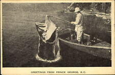 Greetings from Prince George British Columbia Canada large fish exaggeration